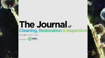 iicrc journal of inspection restoration cleaning october 2015