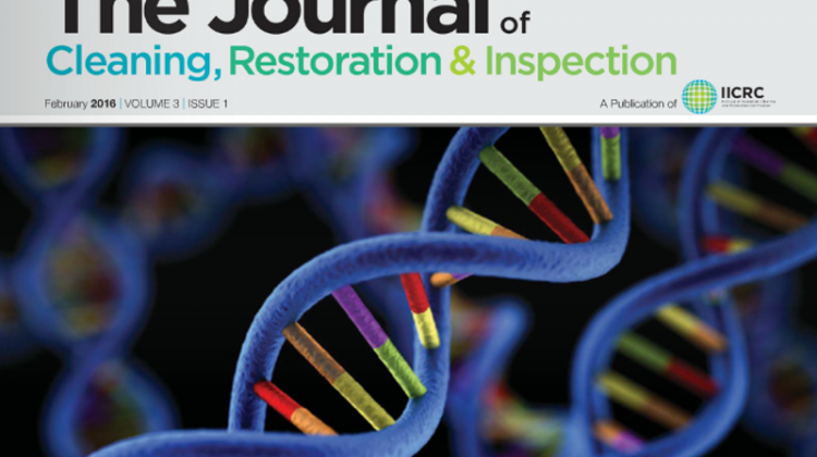 iicrc journal of cleaning, restoration & inspection february 2016