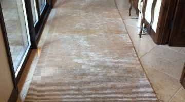 Cleaning issues with hand loomed viscose runners