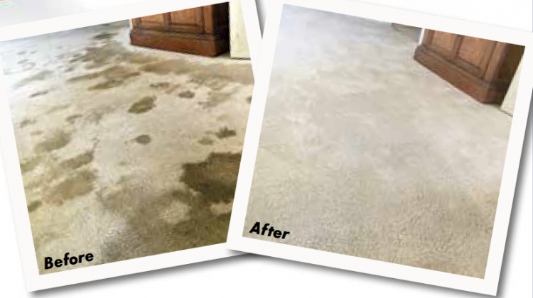 How a nyon carpet recovered after cleaning