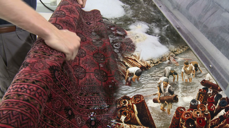 rug washing history with Centrum Force.