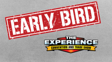 early-bird registration extended experience