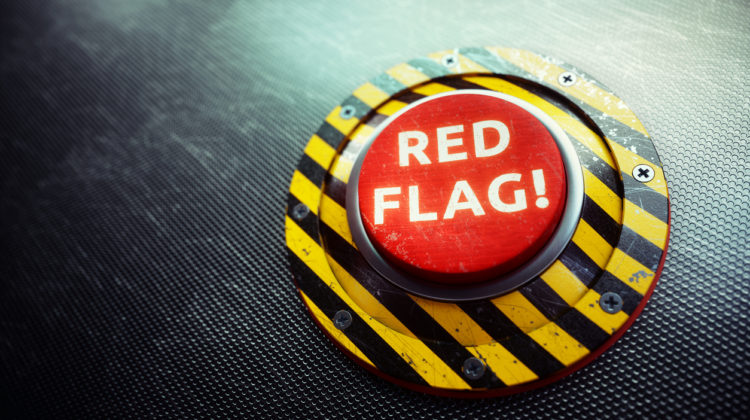 red-flag customers
